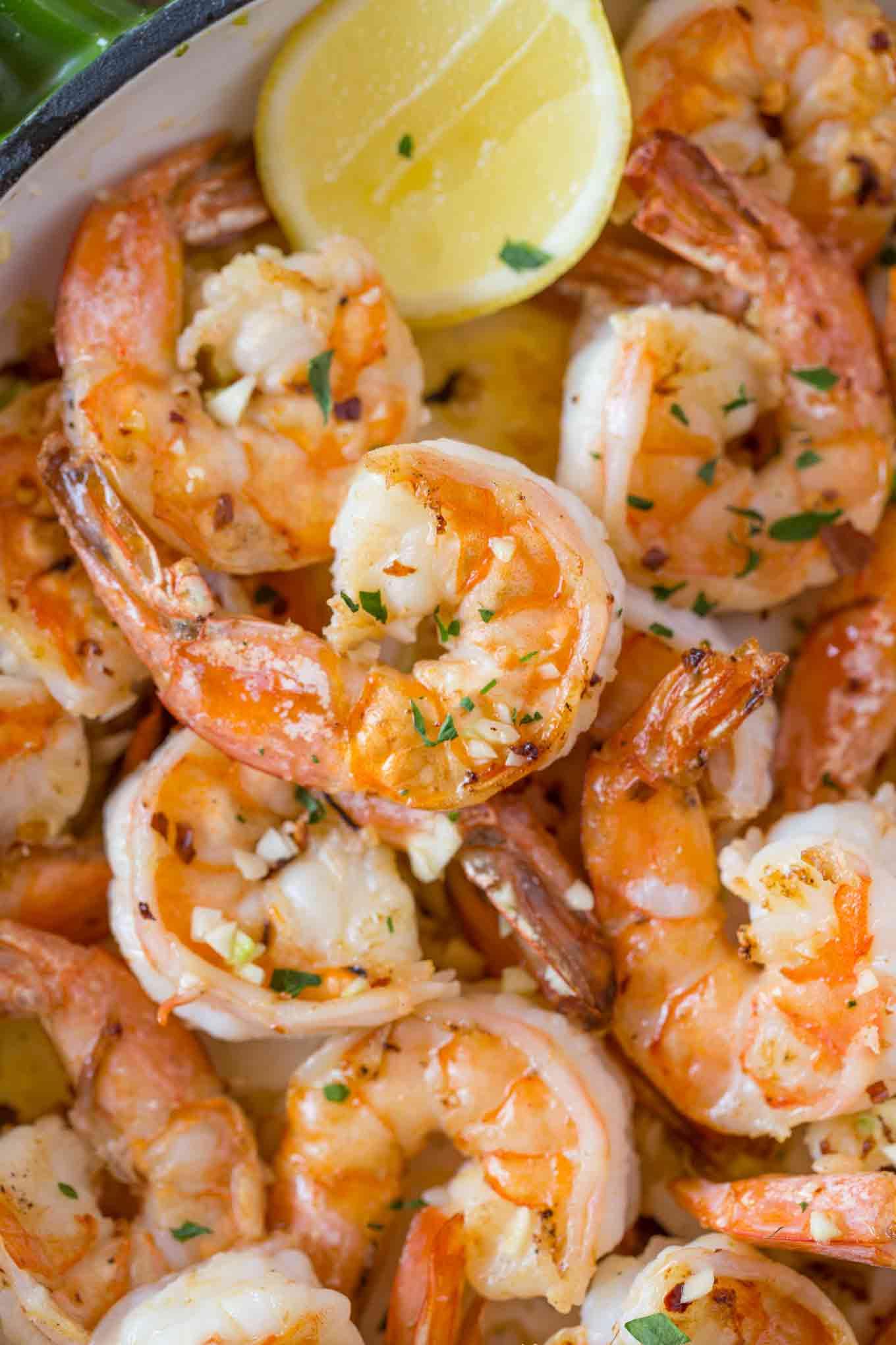 Easy Lemon Shrimp Scampi